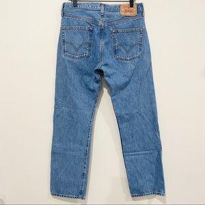 LEVI'S Men's 501 Button Fly Jeans